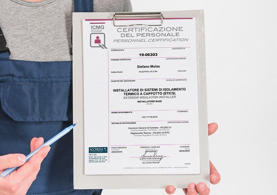 Steba ottiene la Certificazione ICMQ